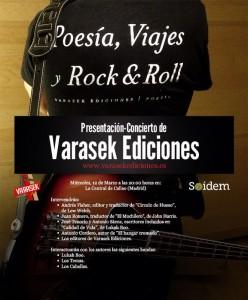 VARASEK EDICIONES desembarca en LA CENTRAL de CALLAO